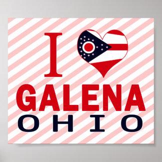 Amo la galena, Ohio Impresiones