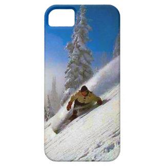 Amo la gama del Mt Blanc del polvo Funda Para iPhone SE/5/5s