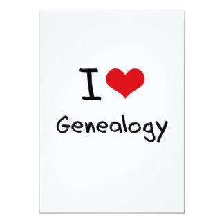Amo la genealogía comunicado