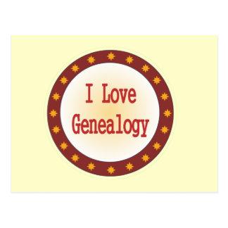 Amo la genealogía postal