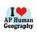 Amo la geografía del ser humano del AP Postal