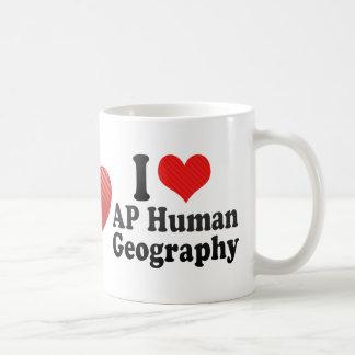 Amo la geografía del ser humano del AP Tazas