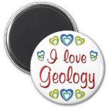 Amo la geología imanes