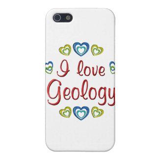 Amo la geología iPhone 5 protector