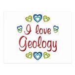 Amo la geología postal