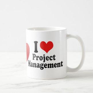 Amo la gestión del proyecto tazas de café
