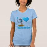 amo la gimnasia #3 camisetas