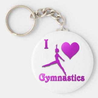 amo la gimnasia #8 llavero