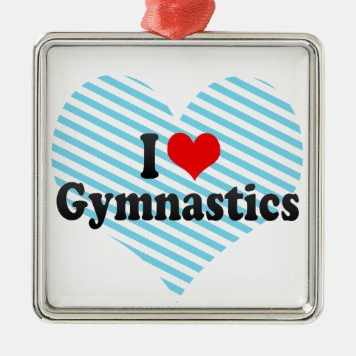 Amo la gimnasia adorno