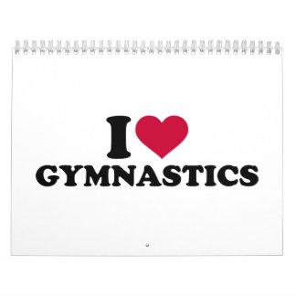 Amo la gimnasia calendario