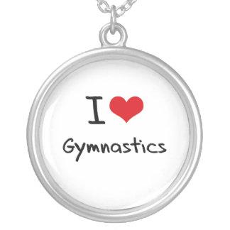 Amo la gimnasia colgante redondo