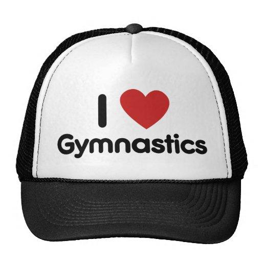 Amo la gimnasia gorros