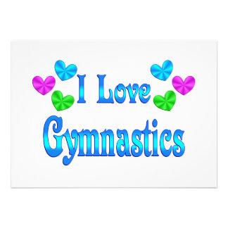 Amo la gimnasia comunicado personal