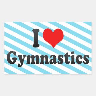 Amo la gimnasia rectangular altavoz