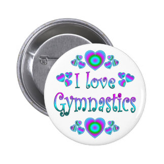 Amo la gimnasia pin