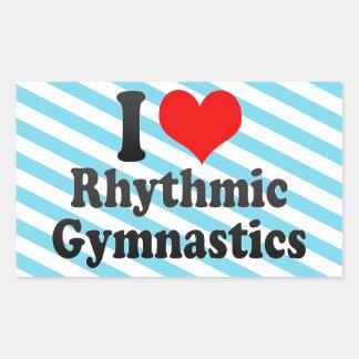 Amo la gimnasia rítmica rectangular altavoces