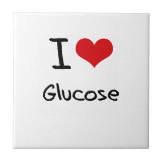 Amo la glucosa azulejos ceramicos