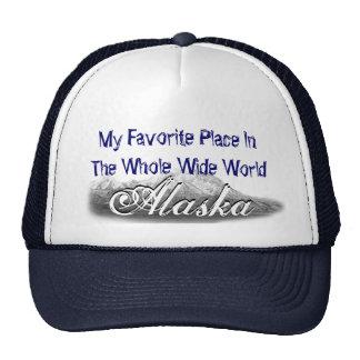 Amo la gorra de béisbol de Alaska