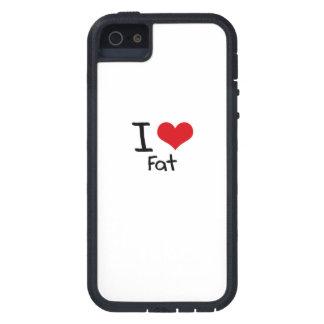 Amo la grasa iPhone 5 Case-Mate carcasa