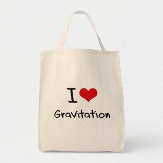 Amo la gravitación bolsas
