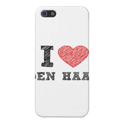 Amo la guarida Haag iPhone 5 Cárcasa