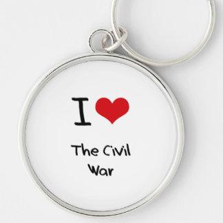 Amo la guerra civil llaveros