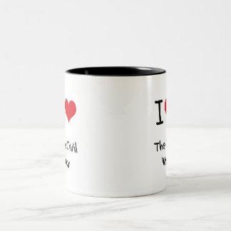 Amo la guerra civil taza de café