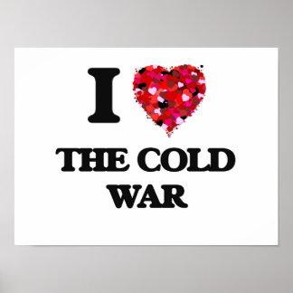 Amo la guerra fría póster