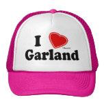 Amo la guirnalda gorras