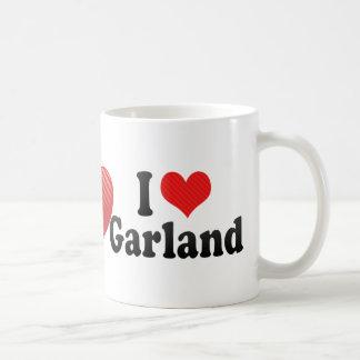 Amo la guirnalda taza