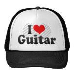 Amo la guitarra gorras de camionero
