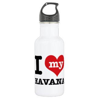 Amo La Habana Botella De Agua De Acero Inoxidable