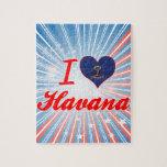 Amo La Habana, Dakota del Norte Rompecabezas Con Fotos