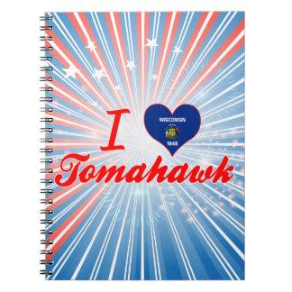 Amo la hacha de guerra, Wisconsin Cuadernos