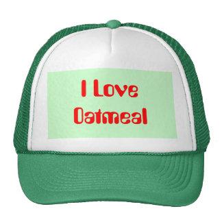 Amo la harina de avena gorra