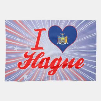 Amo La Haya, Nueva York Toalla De Cocina