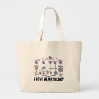 Amo la hematología (el linaje del glóbulo) bolsas de mano