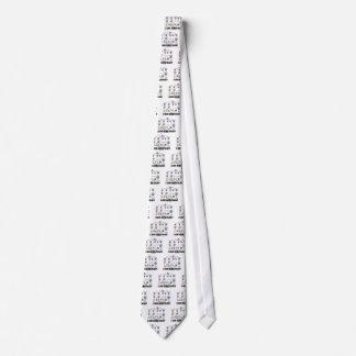 Amo la hematología (el linaje del glóbulo) corbatas personalizadas