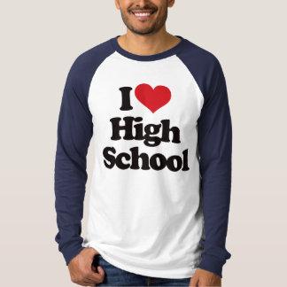¡Amo la High School secundaria! Polera