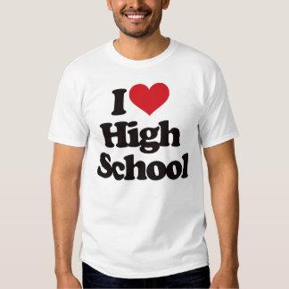 ¡Amo la High School secundaria! Poleras