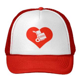 Amo la impresora gorras de camionero
