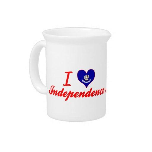 Amo la independencia, Luisiana Jarras Para Bebida
