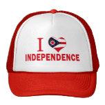Amo la independencia, Ohio Gorro De Camionero