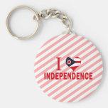 Amo la independencia, Ohio Llaveros