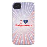 Amo la independencia, Oregon iPhone 4 Carcasas