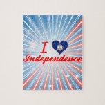 Amo la independencia, Virginia Rompecabeza Con Fotos