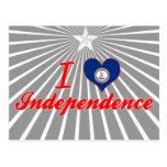 Amo la independencia, Virginia Tarjeta Postal