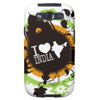 Amo la India Samsung Galaxy S3 Carcasas
