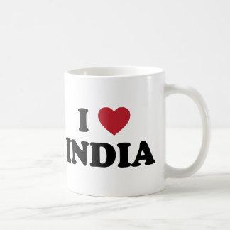 Amo la India Taza