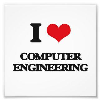 Amo la ingeniería informática cojinete